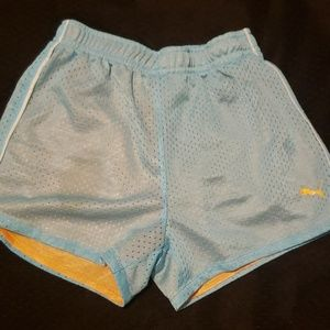 Puma young girls shorts